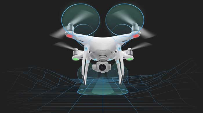 Drone DJI Phantom 4 Pro 1