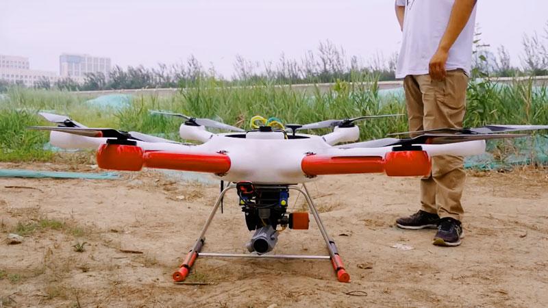 Drone GAIA 160-AG Hexacopter ARF Combo